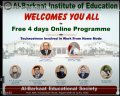 4 Days Online Programme Completed Successfully